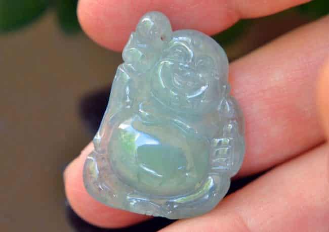 jade icy green buddha