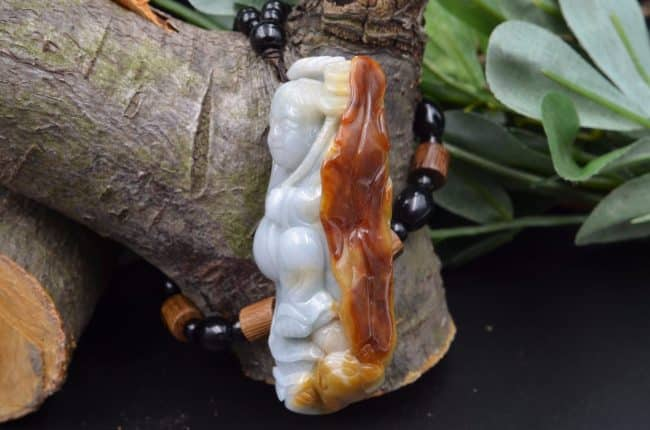 jadeite Buddha statue