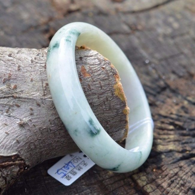 blue jade bangle