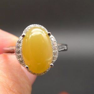 jade yellow ring
