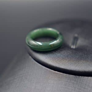 Jadeite ring genuine