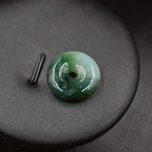 peace buckle jade pendant