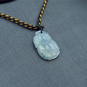 elephant jade necklace