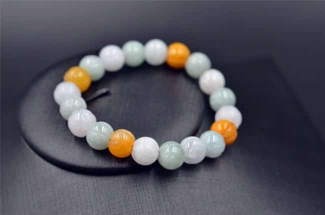 jade beads bracelet