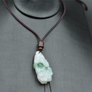 jadeite cabbage necklace