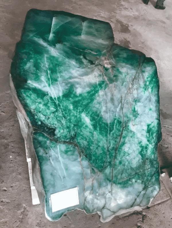 Myanmar jade gemstone