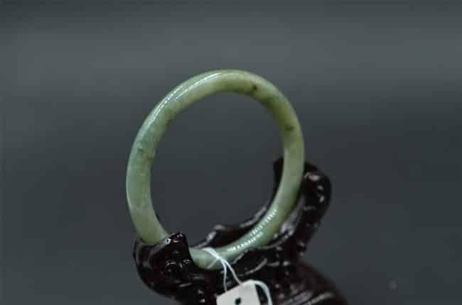 Helen Grade A Jade Burmese Untreated Jadeite bangle 19188 55mm JB2311101919