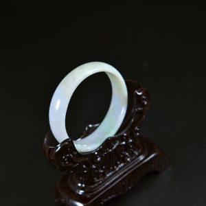 Kid's jade bangles oval shape small size bangle 45mm 13102004