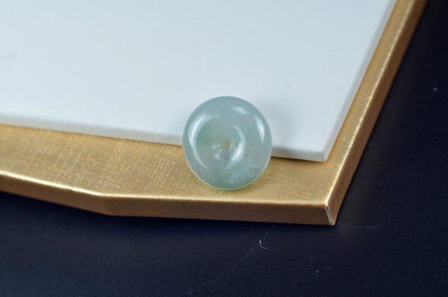 Jadeite Emerald Fine Jewellery Jade Safety Pendant Buckle Necklace 10012017