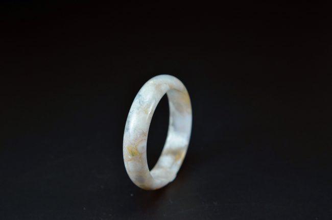 Sakura agate chalcedony bracelet 50 mm 20052033