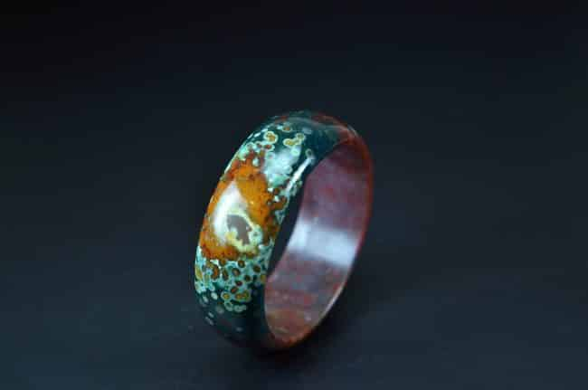 High Quality Natural Ocean Jasper Bangle 61mm 20052051