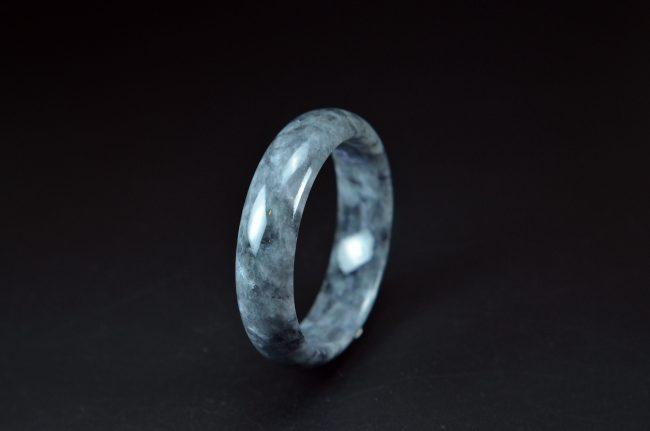 Helen Grade A Jade Lady bracelet Black Jade Bangle 58mm 20052077 200520077