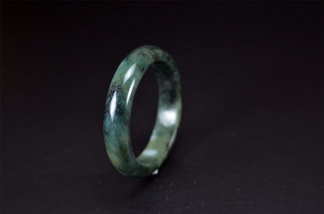True Burma Jadeite Dark Green 58mm 200520137