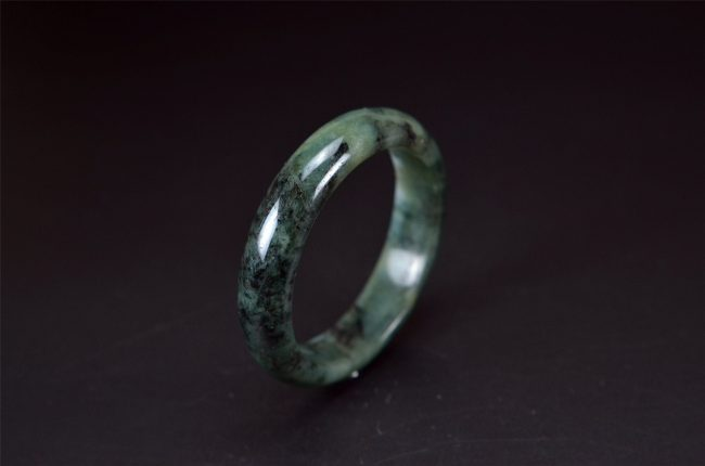 Helen Grade A Jade True Burma Jadeite Dark Green 58mm 200520137 200520137