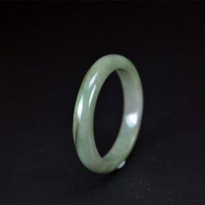 Real Type A Burmese Jadeite Bangle 55 mm 200520156