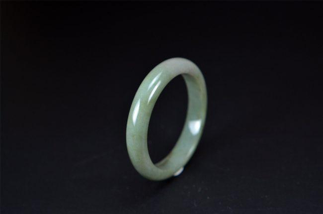 Helen Grade A Jade Real Type A Burmese Jadeite Bangle 55 mm 200520156 200520156