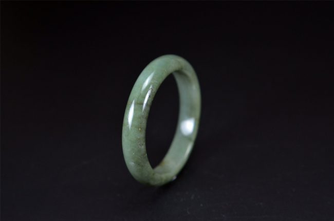 Natural Jadeite Gemstone Bracelet Bangle 56 mm 200520158
