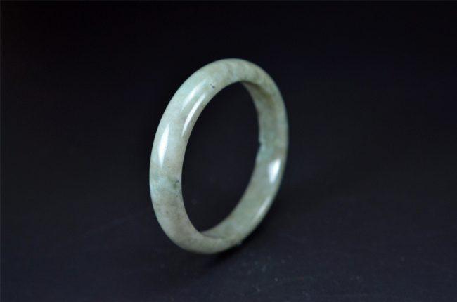 Large Size Jadeite Bangle Bracelet 62 mm 200520160