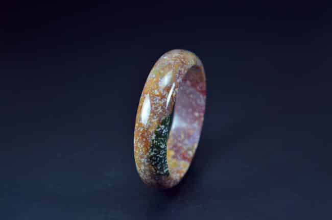Multi Color Ocean Jasper Bangle 62mm 20052049