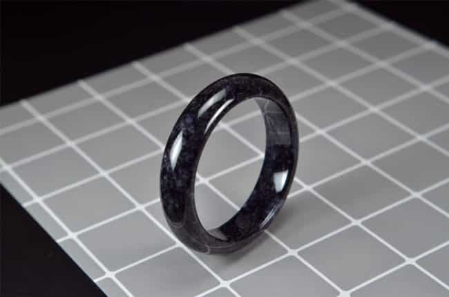 Old Black Jade Bangle 58mm 200520168