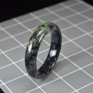 Green Black Jade Bangle 58mm 200520169