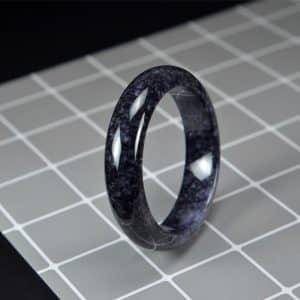 Grade A Black Jade Bangle 58mm 200520170