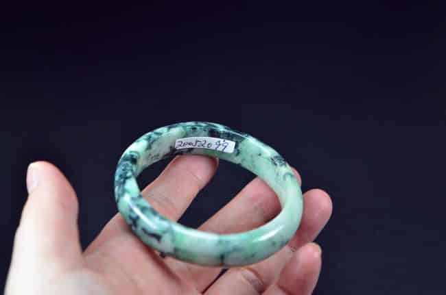 Helen Grade A Jade Genuine Jadeite Bangle Natural Stone 54mm 20052099 200520099