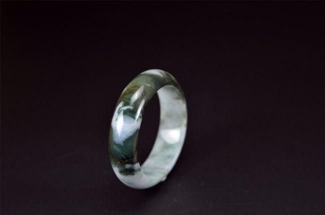 Small Translucent Jade Bangle 50 mm 200520128