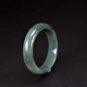 Oil Green jade stone bracelet Bangle 54 mm 200520130