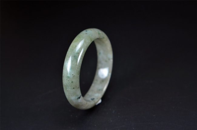 Grade A Burmese Jade Bangle 58 mm 200520148