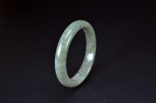 Helen Grade A Jade Large Size Jadeite Bangle Bracelet 62 mm 200520160 200520160