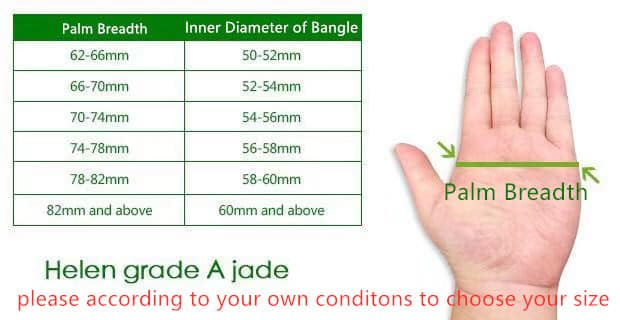 how to measure bangle size