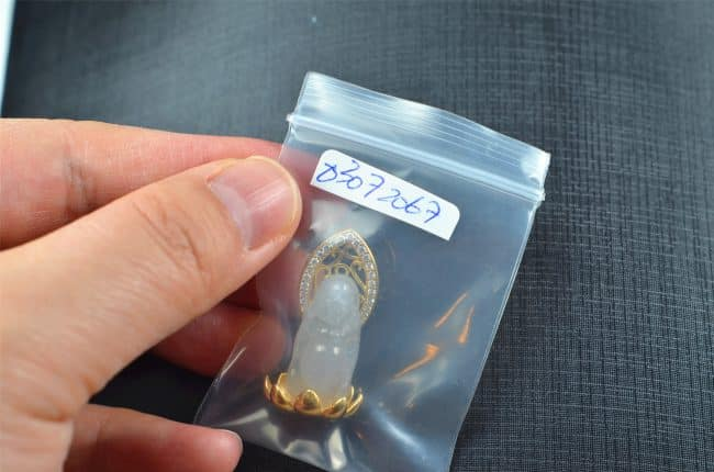 Jade Ssilver 925 Buddha