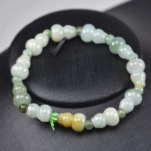 Jade beads real genuine Burma jadeite bracelet guards 03072005