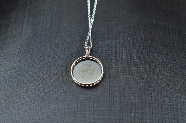 Helen Grade A Jade Natural Black jade silver 925 coin life tree 03072048 3072048