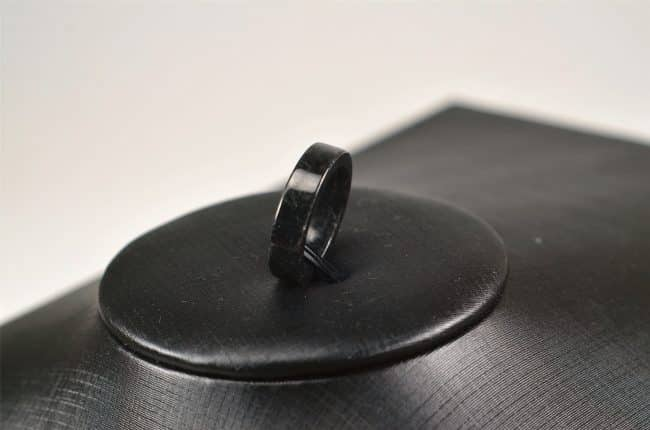 Helen Grade A Jade Jade icy jadeite rings stone band ring light black 03072073 3072073